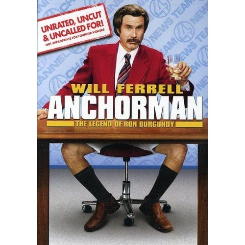 Image 0 of Anchorman The Legend Of Ron Burgundy Unrated Full Screen Edition On DVD With Wil