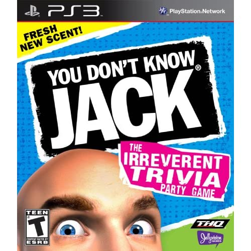 You Don't Know Jack For PlayStation 3 PS3 Trivia