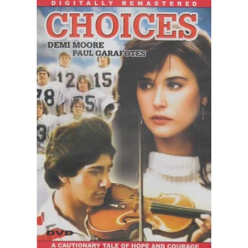 Image 0 of Choices Slim Case On DVD With Demi Moore