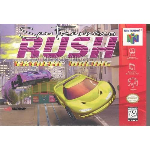 Image 0 of San Francisco Rush Extreme Racing Nintendo 64 For N64