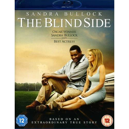 Blind Side Blu-Ray On Blu-Ray With Sandra Bullock