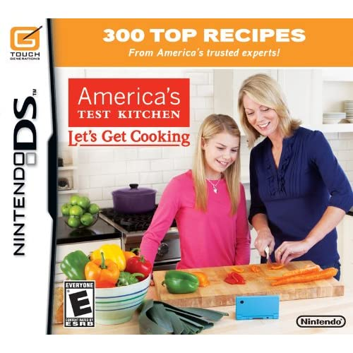 America's Test Kitchen: Let's Get Cooking For Nintendo DS DSi 3DS 2DS Trivia