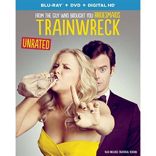 Image 0 of Trainwreck Blu-Ray Digital HD On Blu-Ray With Amy Schumer Comedy