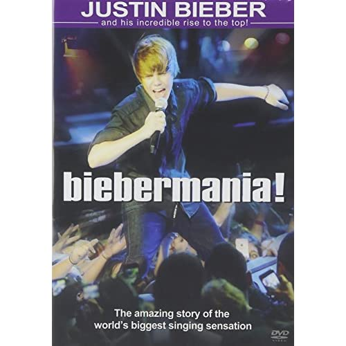Biebermania On DVD with Justin Bieber