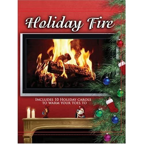 Image 1 of Holiday Fire On DVD With 10 Carols
