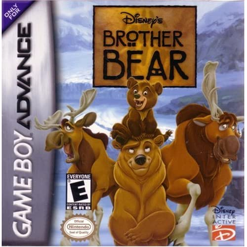 Brother Bear For GBA Gameboy Advance Disney Platformer