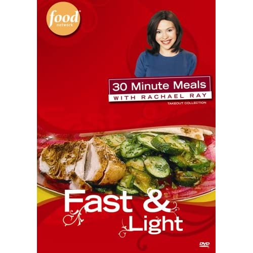 Image 0 of 30 Minute Meals With Rachael Ray Fast & Light On DVD