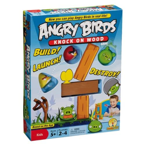 Image 0 of Angry Birds: Knock On Wood Game Toy Multi-Color
