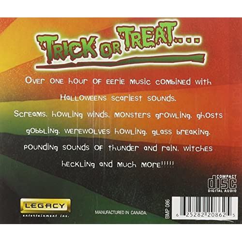 Image 2 of Halloween Trick Or Treat By Various On Audio CD Album 2011