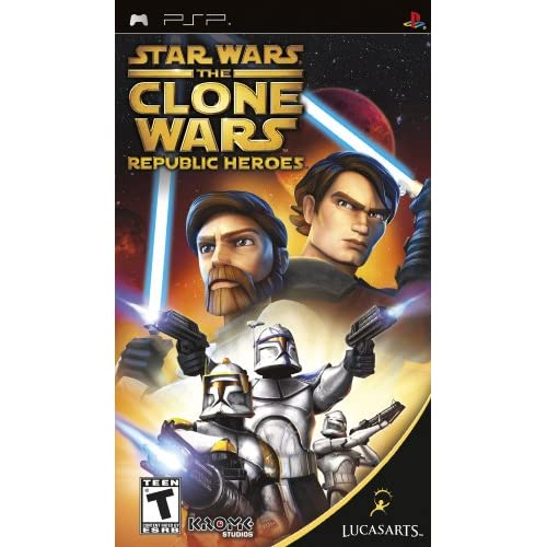 Image 0 of Star Wars The Clone Wars: Republic Heroes Sony For PSP UMD