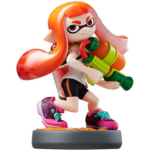 Image 0 of Inkling Girl Amiibo Splatoon Series Figure Character