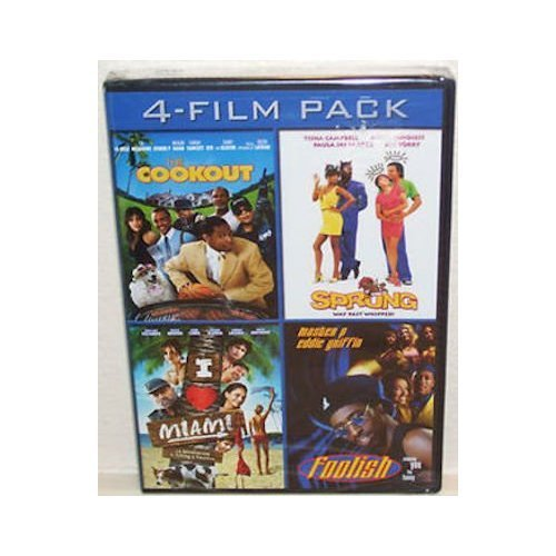 Image 0 of 4-FILM Pack The Cookout Sprung I Love Miami Foolish By Lance Rivera On DVD
