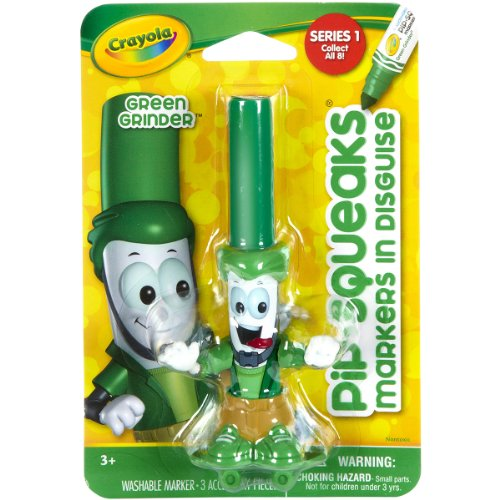 Crayola 58-8720 Pipsqueaks Markers In Disguise Green Grinder