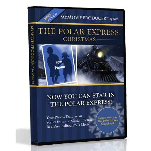 Image 0 of AVinci Media SMG-51-0003 Polar Express Kit On DVD