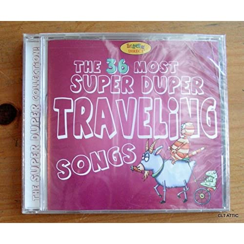 Image 0 of The 36 Of The Most Super Duper Traveling Songs On Audio CD Album 2005