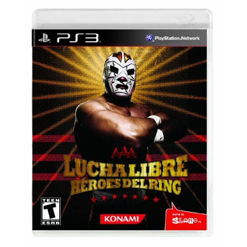 Image 0 of Lucha Libre Heroes Del Ring For PlayStation 3 PS3 Wrestling