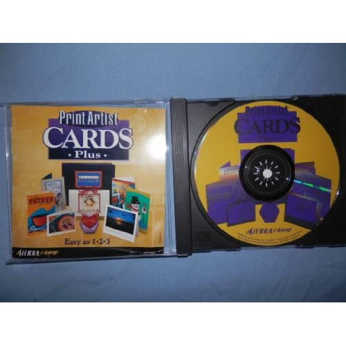 Image 0 of Print Artist Cards Plus Software Crafts XPB462