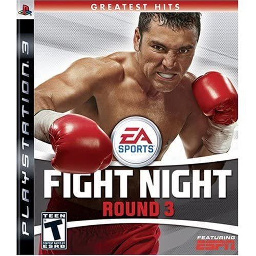 Fight Night Round 3 For PlayStation 3 PS3 Boxing With Manual and Case
