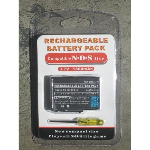 Image 0 of Rechargeable 3.7V Li-Ion Battery Pack For Nintendo DS Lite