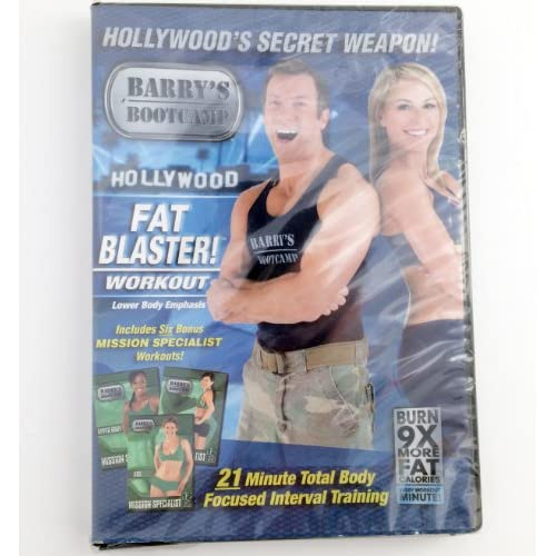 Image 0 of Barry's Bootcamp Fat Blaster! Workout Lower Body Emphasis Hollywood's Secret Wea