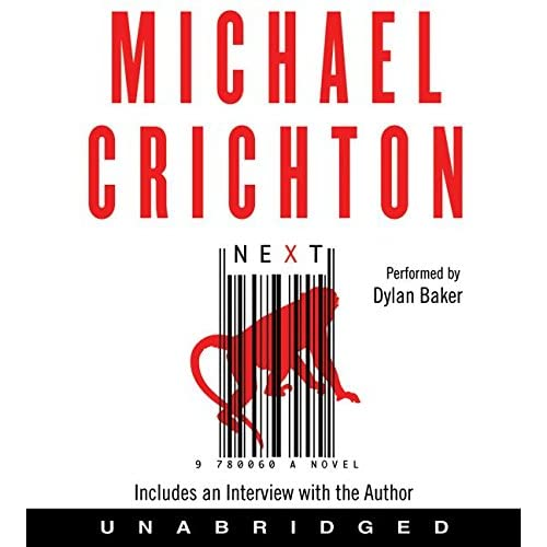 Next By Crichton Michael Baker Dylan Reader On Audiobook CD By Michael