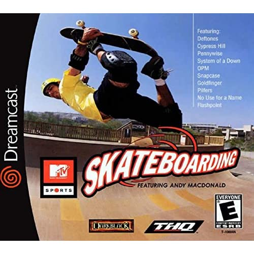MTV Sports: Skateboarding For Sega Dreamcast