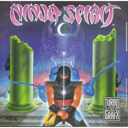 Ninja Spirit For Turbo Grafx 16 Vintage Arcade