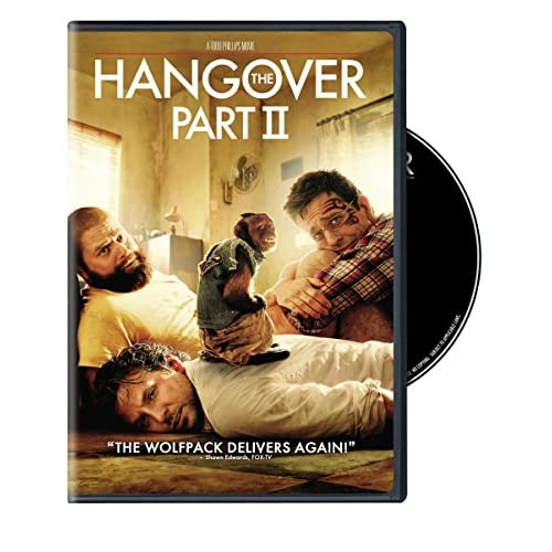 The Hangover Part II On DVD With Bradley Cooper Comedy