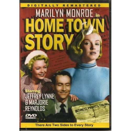 Image 0 of Home Town Story Slim Case On DVD With Marilyn Monroe