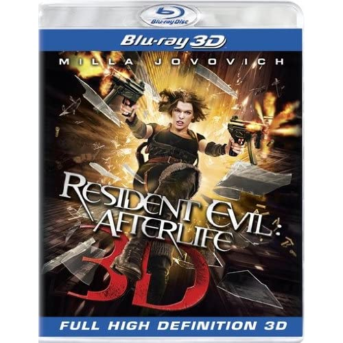 Image 0 of Resident Evil: Afterlife Blu-Ray 3D On Blu-Ray With Milla Jovovich