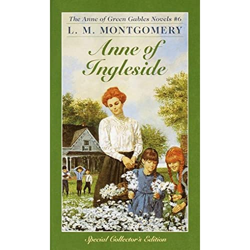 Anne Of Ingleside Anne Of Green Gables No 6 by L M Montgomery Book