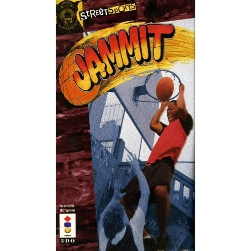 Jammit For 3DO Vintage Basketball With Manual and Case