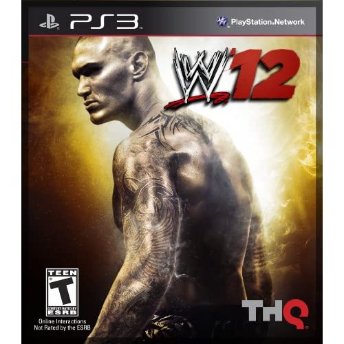 WWE '12 For PlayStation 3 PS3 Fighting