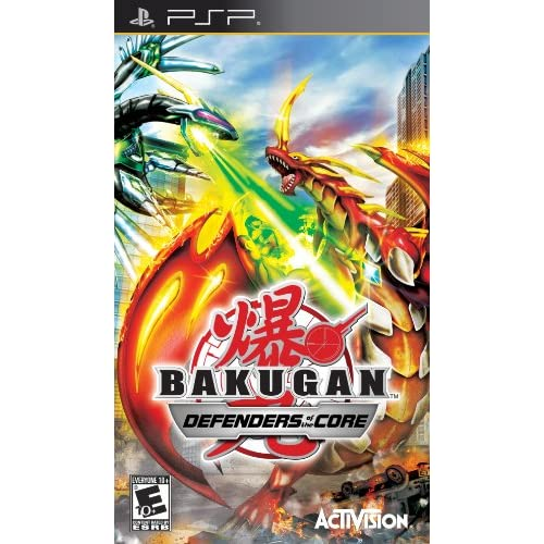 Bakugan Battle Brawlers: Defenders Of The Core Sony For PSP UMD