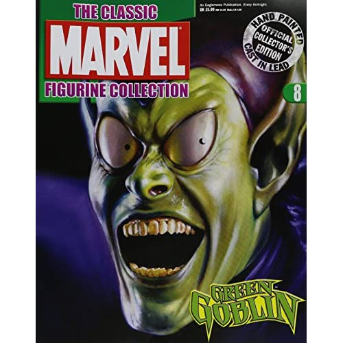 Classic Marvel Figurine Collection Magazine #8 Green Goblin Toy