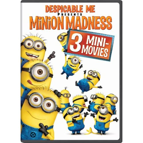 Image 0 of Despicable Me Presents: Minion Madness On DVD With Miranda Cosgrove