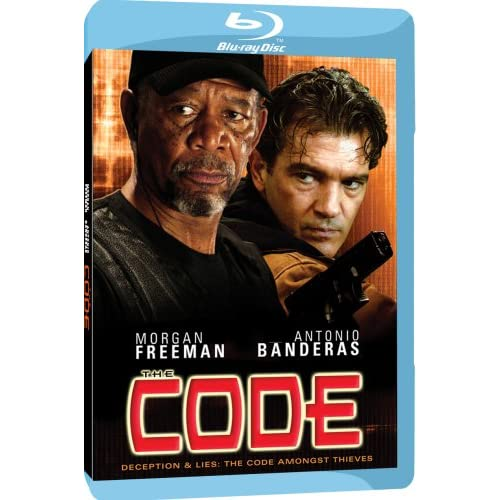 Image 0 of The Code Blu-Ray On Blu-Ray With Morgan Freeman