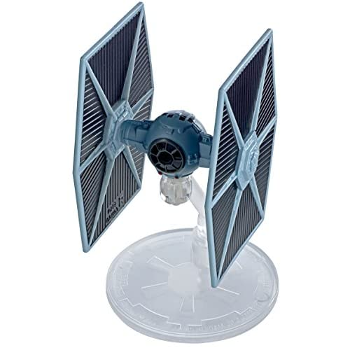 Hot Wheels Star Wars Rogue One Starship Vehicle Tie Fighter Blue Toy