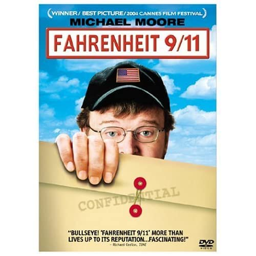 Image 0 of Fahrenheit 9/11 On DVD with Michael Moore Documentary