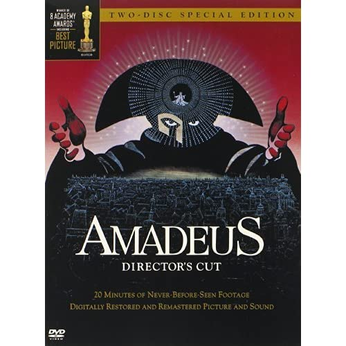 Image 0 of Amadeus Director's Cut By Warner Home Video On DVD With F Murray Abraham