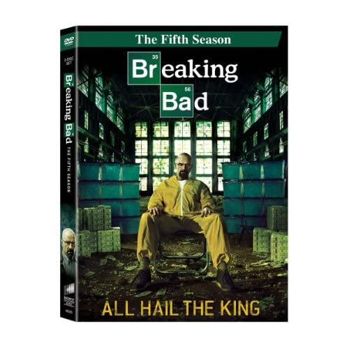 Image 0 of Breaking Bad Season 05 On DVD With Bryan Cranston TV Shows