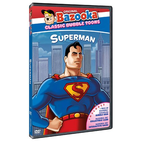 Image 0 of Bazooka Classic Cartoons: Superman On DVD with Gaiam