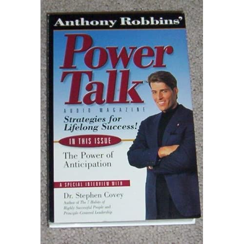 Image 0 of Anthony Robbins' Power Talk Audio Magazine Strategies For Lifelong Success The P