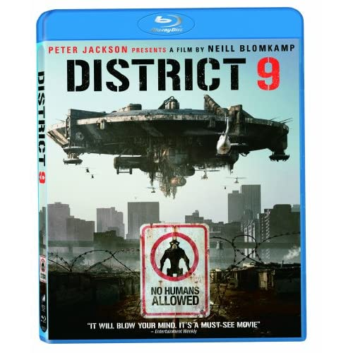 District 9 Blu-Ray On Blu-Ray With Mandla Gaduka