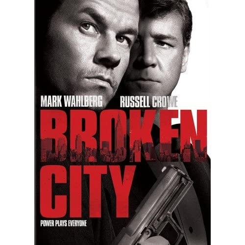 Image 0 of Broken City On DVD With Mark Wahlberg Mystery