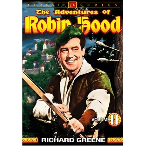 Image 0 of The Adventures Of Robin Hood Vol 11 On DVD With Richard Greene