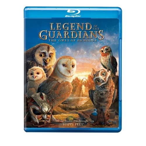 Legend Of The Guardians: The Owls Of Ga'hoole Blu-Ray On Blu-Ray With Jim Sturge