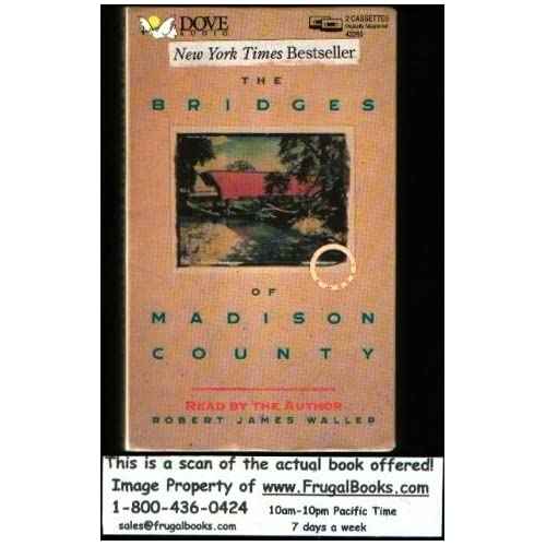Image 0 of Bridges Of Madison County By Robert James Waller On Audio Cassette