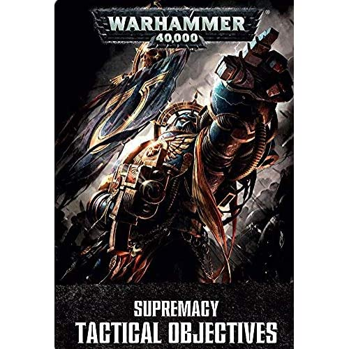 Image 0 of Warhammer 40000 Supremacy Tactical Objective Cards TCG