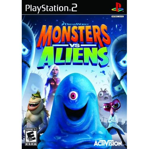 Image 0 of Monsters Vs Aliens For PlayStation 2 PS2